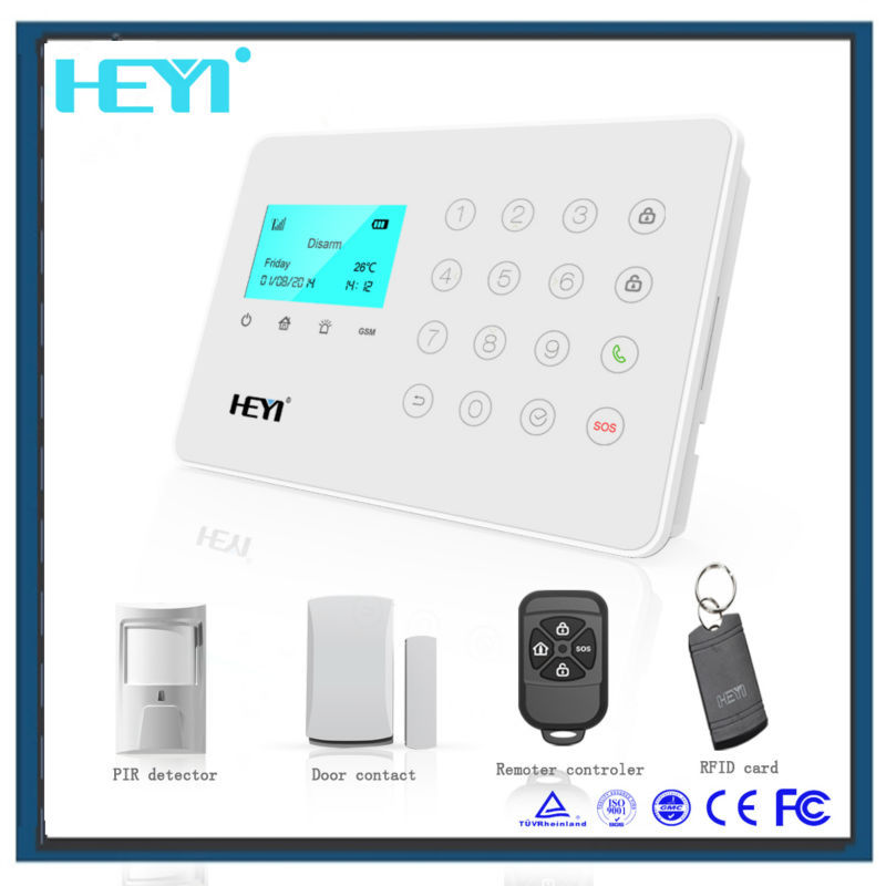New type fashion 3g wireless home security alarm camera system made in china