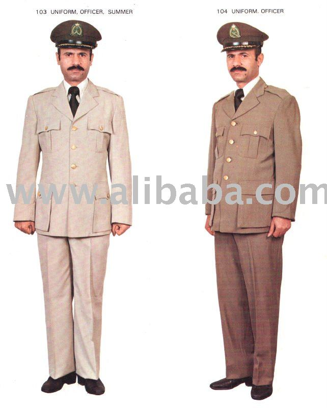 Military Officer Uniform