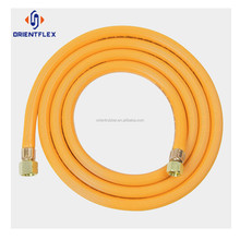 Wholesale price braided UV resistant water conveying orange pvc air/gas pipe factory supplier
