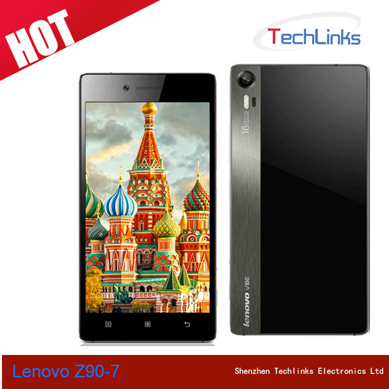 Original Lenovo Vibe Shot Z90-7 Android 5.0 Octa Core 3GB 32GB Dual SIM 16MP Camera GPS 4G Lte 5.0 inch Mobile Phone
