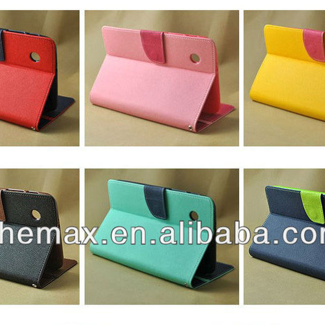 Attractive Case for Samsung Galaxy Tab 2, Korea Stand Case For 7 inch samsung P3100