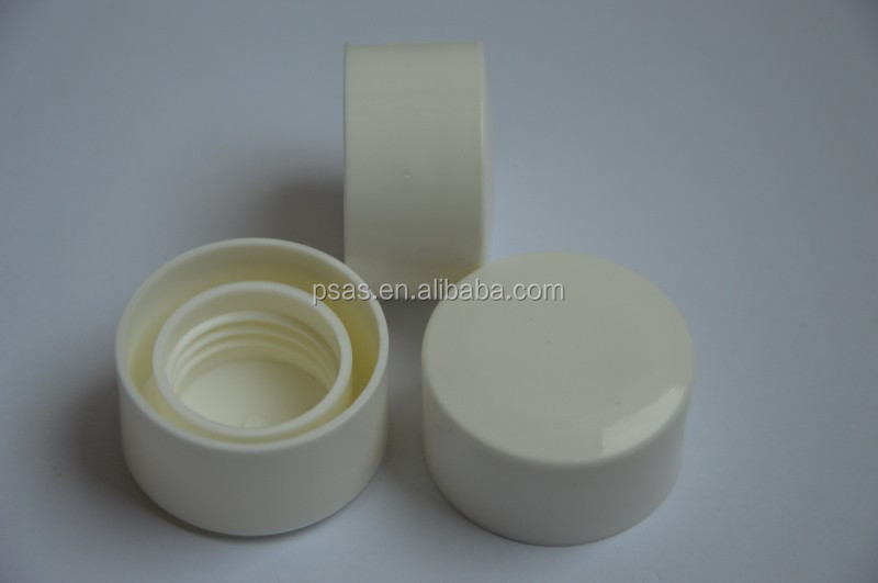 Plastic inside and outside double wall cap for Bottles