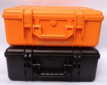 Plastic waterproof tool carrying case/Packing equipment protective abs plastic tool case/Hard Plastic watertight tool case