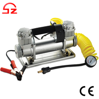 High quality heavy duty 4x4 electric 12v car tire air inflator pump