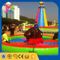 Funfair rides manufacturer rides kids mechanical bull ride for sale
