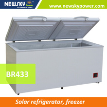 Large Capacity Deep Chest Freezer DC solar freezer