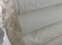 Twill woven fabric,unbleached fabric used for clothes,sheet and hotel bedding