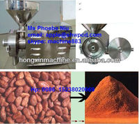 2016 hot sell stainless steel cocoa grinding machine/cocoa bean grinding machine/cocoa grinder 0086 15238020669