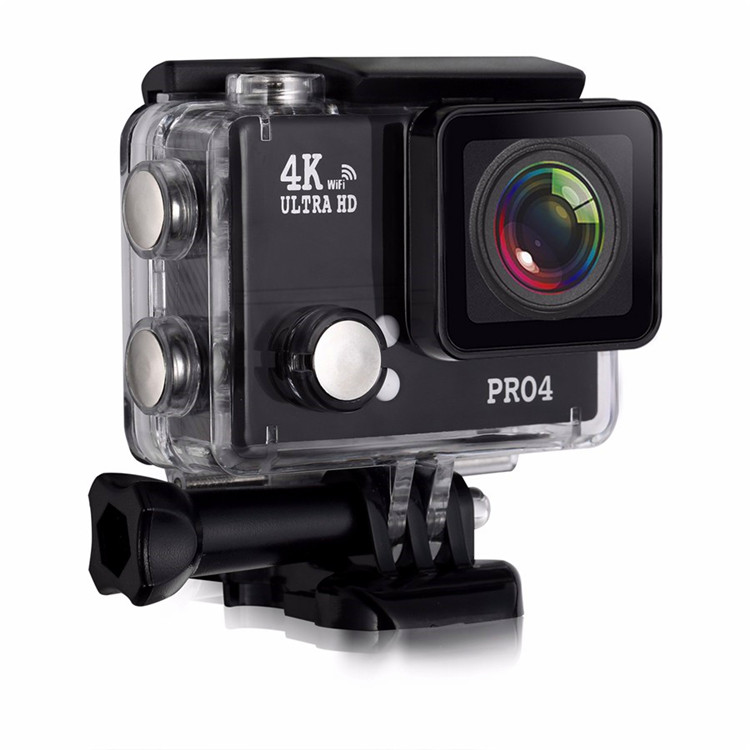 "New Product 2016 2""LCD 170D Wide-Angle similar xiaomi yi 4k action camera"
