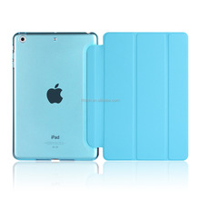 New Product for apple ipad mini 2 cases flip smart case for new ipad mini