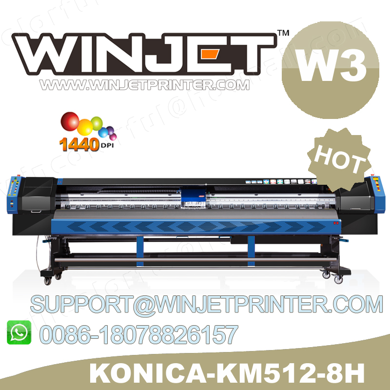 Economical! Allwin H8(Konica 512/14/42pl) plotter printer