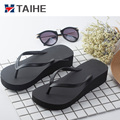 soft girl fashion promotion nude beach slippers flip flops with arch support