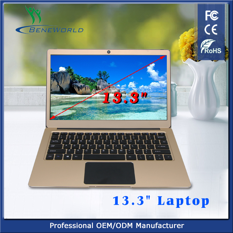 New arrived 13.3 inch notebook pc computer with Apollo CPU