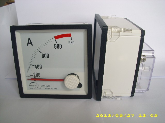 High quality manufacture supplier analog display Maximum Demand meter Max Ammeter 3 needles