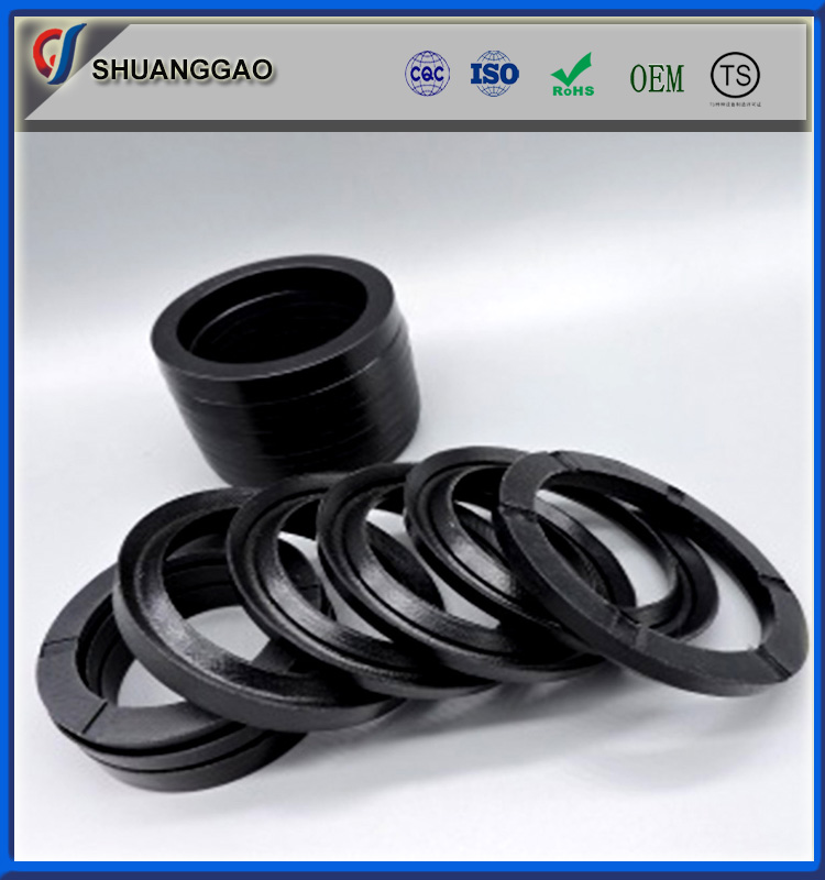 Filled teflon ptfe V type combination packing seals