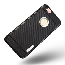 Fashion Hermit Bracket I7 Back Handphone Cases Cover Sliver Black