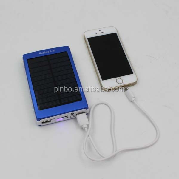 5000Mah Solar Mobile Phone Charger,high-energy mobile power supply