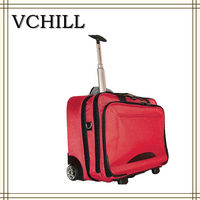 china alibaba supplier ladys facny travel laptop trolley bag