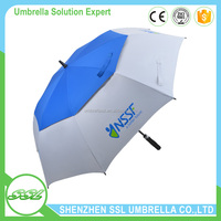 Factory price OEM air umbrella for sale double canopy golf umbella