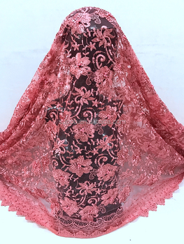 Stones and Beads lace fabric / Tulle Net embroidery lace /french lace fabric