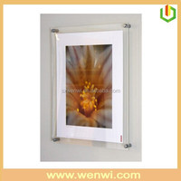 Wall Mounted Acrylic 25x35 Photo Picture Frame