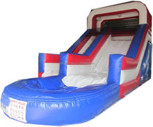 TOP outdoor plastic slides big kahuna water inflatable pool slide with great price