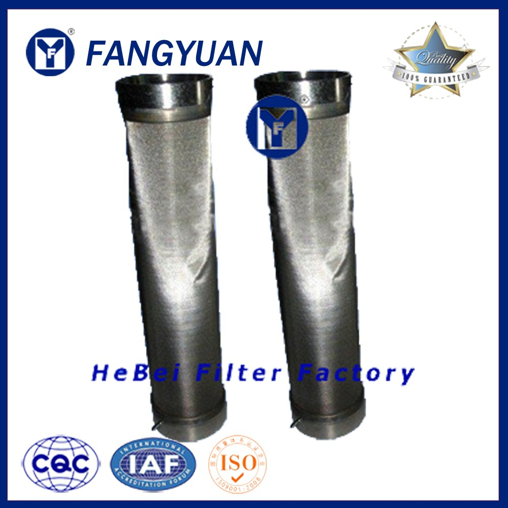Sintered Powder Stainless Steel Gas filter Metal Filter