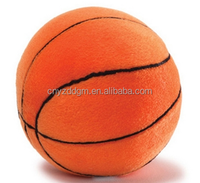 stuffed basketball keychain/custom plush ball toy keychian/plush keychain basketball toy