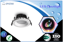 Dim to warm 2000~2800K cct adjustable mini led downlight for Norway,Sweden etc market.