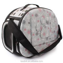 Luxury Durable Dog Carrier Foldable Pet Carrier Eva Cat Carrier Bag