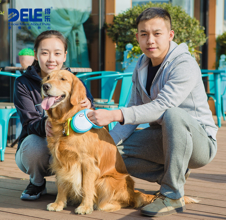 2015 new innovative pet products PRO retractable dog leash with CE certificate