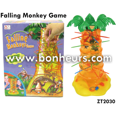 New Novelty Toy Fall Down Falling Monkey Game