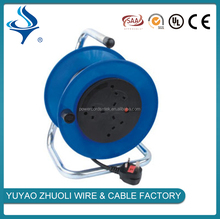 steel cable reel with switch for multi-use
