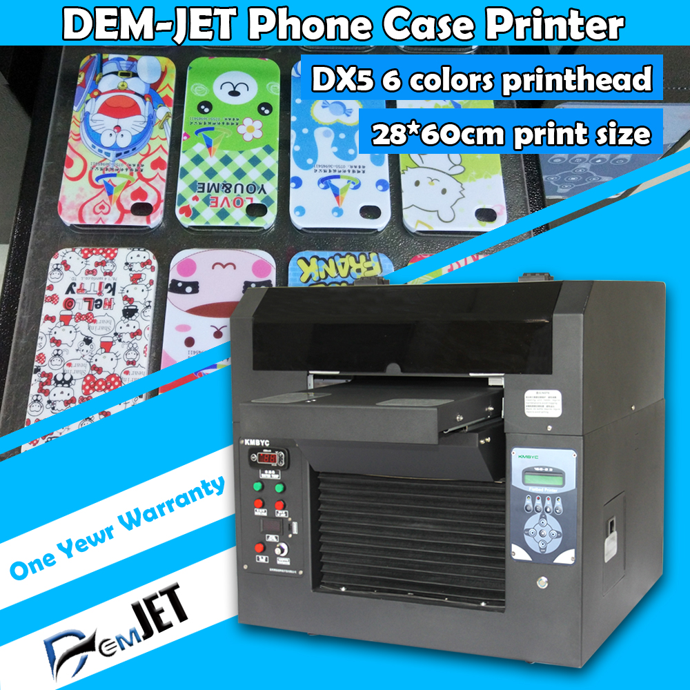 2016 3D Embossed Effect A3 UV Flatbed Phone Case Printer
