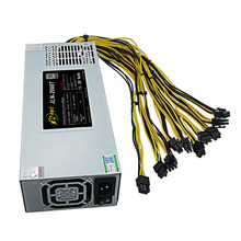 PSU 1800W 12V 90plus Platinum Bitcoin Miner Power Suply for Antminer S7 S9 Avalon 741