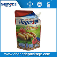 Popular Cheap food cheap 250ml Spout Packaging Bag For Drinking
