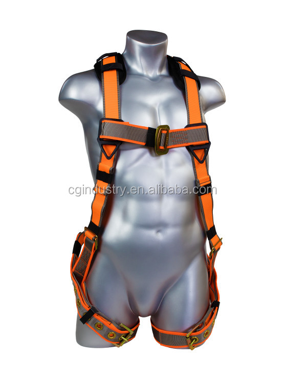 5-POINT FULL BODY HARNESS WITH TONGUE BUCKLE LEGS