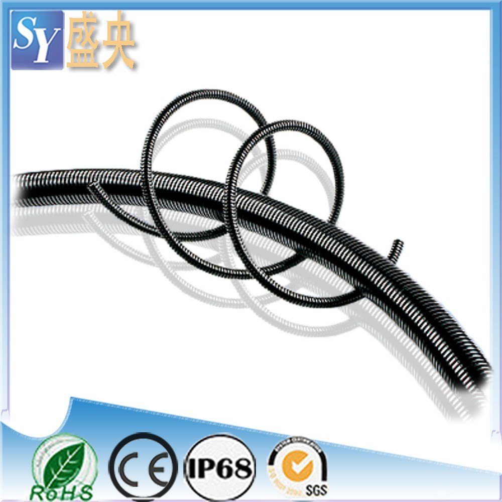 Electrical Wire PP Plastic Flexible Corrugated Tube Nylon Pipe