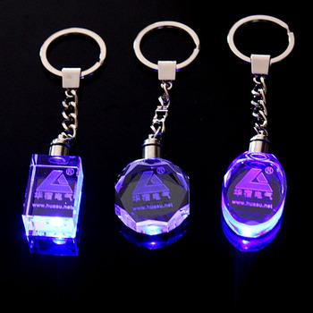 3d Laser Crystal Keychain Gift Buy 3d Crystal Laser