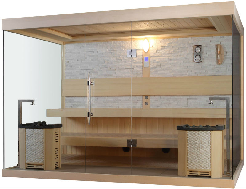 2013 new products Ayous Finnish saunas with Harvia sauna heater