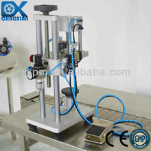 Professional manual pump crimping machine for stomatitis spray of factory price