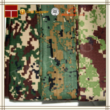 Polyester / Cotton Material and Make-to-Order Supply Type camouflage fabric with military print