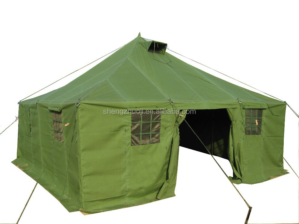 canvas army tent 10 persons military tent