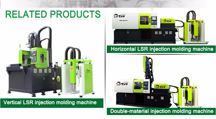 50-500T Energy-Saving Lsr Double Liquid Injection Machine