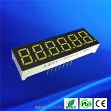 keming 3061 0.36 inch 7 segment led display 6 digits white