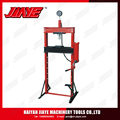 12Ton Hydraulic Shop Press With Gauge Winch Repair Metal Press