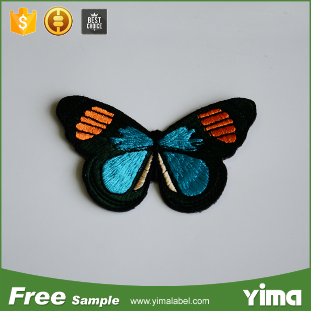 China factory direct wholesale custom sew-on iron-on latest free machine embroidery designs