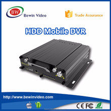 New product Professional anti-shock MDVR 4 channels hd mobile dvr with RS485/RS232 support for bus, truck and vehcile