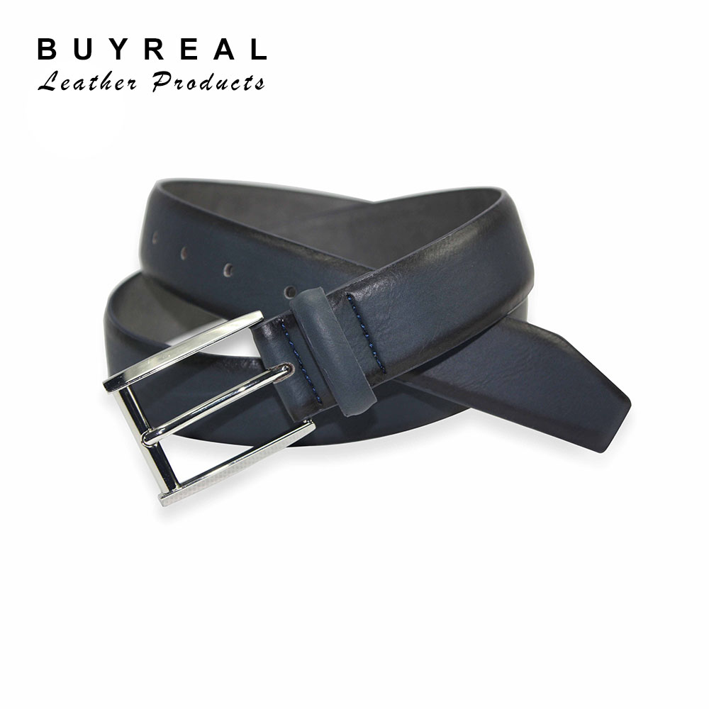 2017 New Product High Quality Custom Classic PU Leather Belt For Men