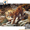 Wild Design 3D Animated Picture Of Tiger